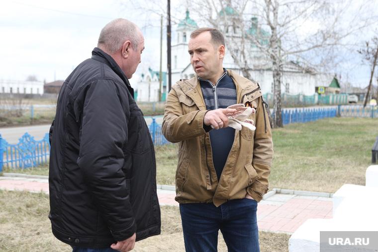 Визит врио губернатора Шумкова в Звериноголовский район. Курган