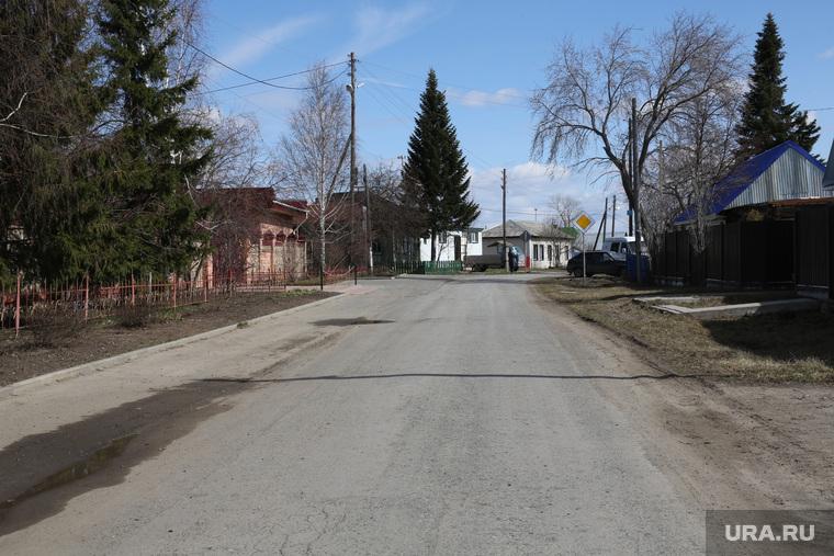 Житель села Гусево построивший дорогу. Тюмень. с. Гусево