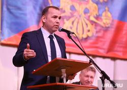 Визит врио губернатора Шумкова в Юргамышский район, шумков вадим, портрет