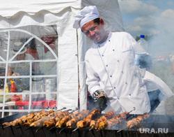 День уральского поля 2018. Чебаркульский район, Челябинская область, шашлык, шашлычник, еда, повар