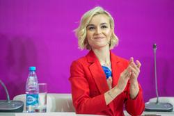 Международный Форум Добровольцев в Москве на ВДНХ. Москва, портрет, гагарина полина