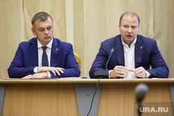 Партийная сессия Единой России в Первоуральске, шептий виктор, корякин иван