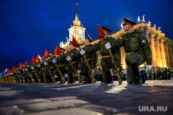 Репетиция парада Победы на Площади 1905 года. Екатеринбург, площадь1905 года, репетиция парада