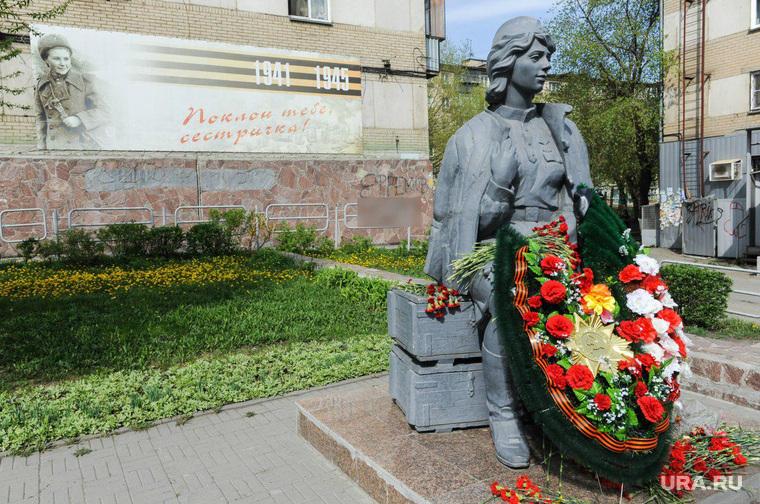 Скульптура Сестричка, замазанное Челябинск