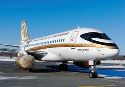 Клипарт depositphotos.com, самолет сухой суперджет