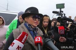 Похороны Юлии Началовой. Москва, лель катя