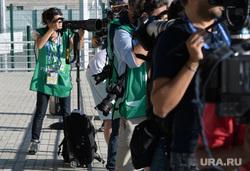 ЧМ-2018. Пресс-конференция и открытая тренировка сборной Мексики по футболу. Екатеринбург, фотограф