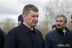 Губернатор Решетников с  проверкой в новом зоопарке. Пермь, портрет, решетников максим