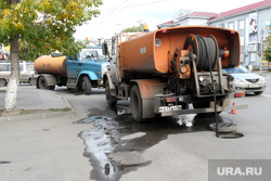 Курган , чистка канализации