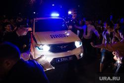 Ночной протест против строительства  храма святой Екатерины в сквере около драмтеатра. Екатеринбург, полк ппсп, протесты, сквер на драме