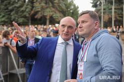 Почетные граждане города на праздничном концерте. Челябинск
