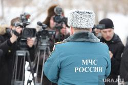 Распиловка льда около Курганского гидроузла, мчс россии, сми, интервью