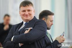 Пресс-конференция врио губернатора Алексея Текслера. Челябинск, улыбка, евдокимов вадим, федечкин дмитрий