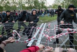 Второй день протестов против строительства храма Св. Екатерины в сквере около драмтеатра. Екатеринбург, протест, храм на драме, сквер на драме