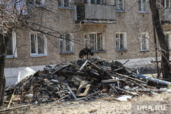 10 и 12 военные городки. Богандинка, строительный мусор, разруха