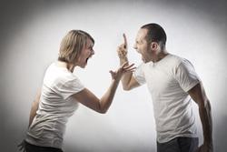 Клипарт depositphotos.com, агрессия, крик, конфликт, ругань, ненависть, упреки
