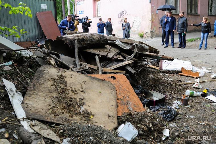 Рейд по мусоркам. Челябинск