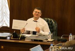 Пресс-конференция ВРИО губернатора тюменской области Александра Моора. Тюмень, осипов андрей