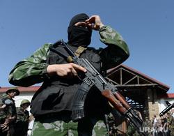 Попытка захвата резиденции Рината Ахметова. Донецк. Украина , автомат, армия, военные, ополчение