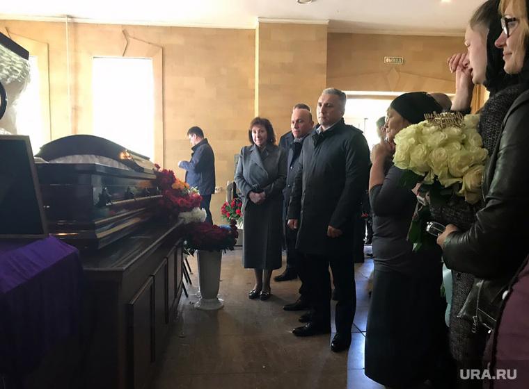 Прощание с Андреем Осиповым.Тюмень