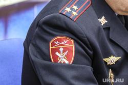 Начальник Управления Росгвардии по Тюменской области Евгений Симаков. Тюмень, шеврон росгвардии