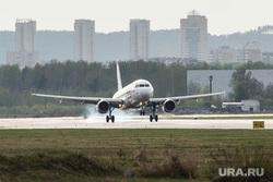 Клипарт по теме Аэропорт. Екатеринбург, самолет, уральские авиалинии, ural airlines