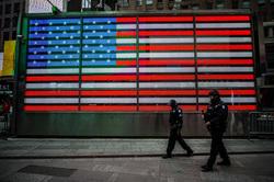 Флаги США, флаг сша, полиция
