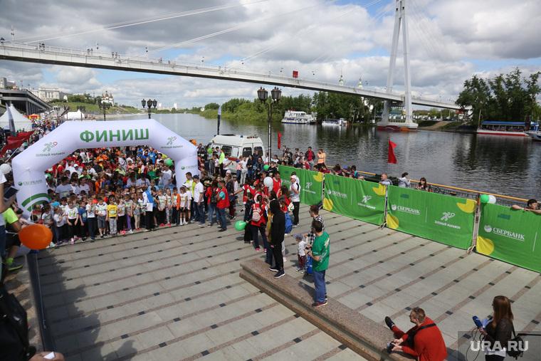 Зелёный марафон. Тюмень