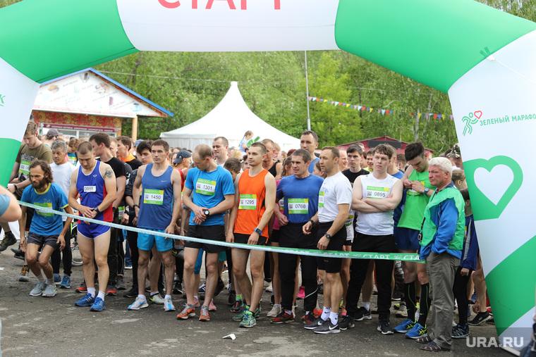 Зелёный марафон. Курган