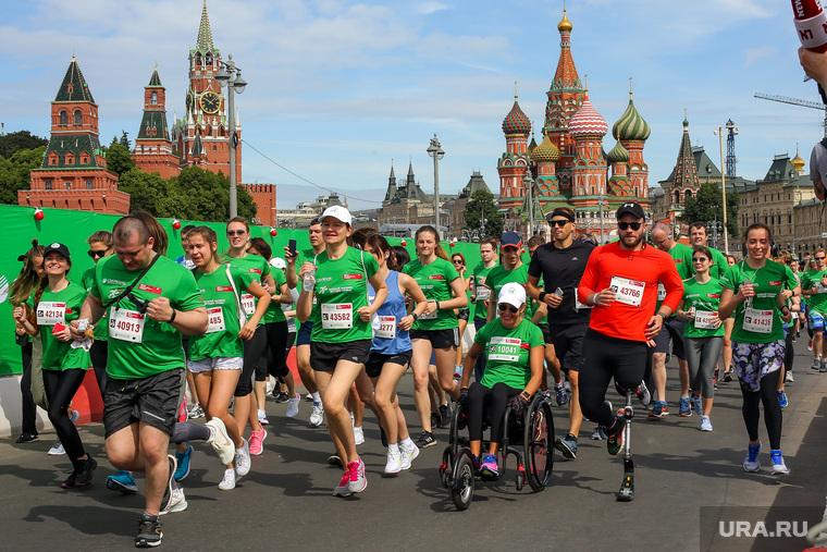 """""""Зеленый марафон Бегущие сердца"""". Москва"""