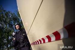 Протесты против строительства храма Св. Екатерины в сквере у театра драмы. Екатеринбург, забор, росгвардия, сквер на драме