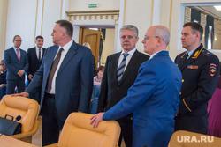 Заместитель руководителя администрации президента РФ Магомедсалам Магомедов в Кургане