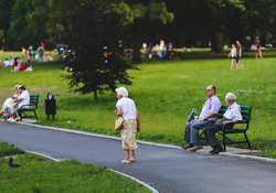 Открытая лицензия на 28.07.2015. Эмоции, прогулка, пенсия, старость