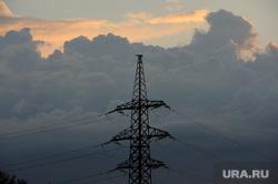 клипарт. Челябинск., лэп, туча, электричество, опора, энергетика