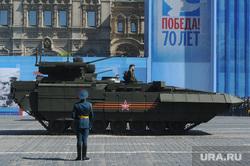 Генеральная репетиция парада на Красной площади. Москва, военная техника, армата