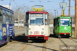 Алексей Текслер в трамвайном депо. Челябинск, трамвай