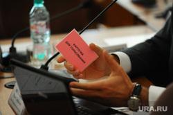 Челябинская городская дума. Депутаты, голосование, карточка для голосования