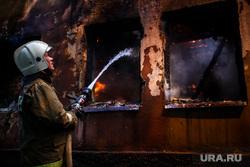 Пожар на Белинского, 163а. Екатеринбург, пожарный, тушение пожара