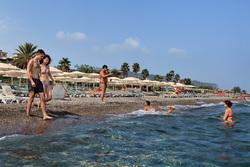 Ирина Шейк, Михаил Галустян, Турция, море, туристы, пляж, турция, жара, купание в море
