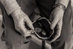 Клипарт depositphotos.com, мелочь, монеты, бедность, нищета, пустой кошелек