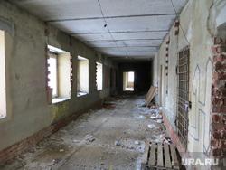 ЧелГУ. Челябинск , коридор, долгострой, разруха