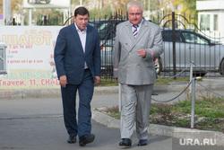 Открытие нового комплекса детской железной дороги. Екатеринбург, куйвашев евгений, миронов алексей