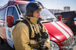 Пожарно-тактические учения в торгово-развлекательном комплексе «Семейный парк». Магнитогорск, пожарный