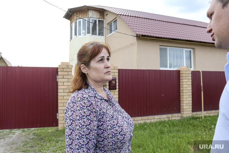 Жительница села Каскары, пожаловавшаяся на отсутствие воды в поселке на XVII (семнадцатой) прямой линии c Владимиром Путиным. Тюмень