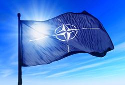 Клипарт depositphotos.com, нато, флаг нато