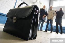 Открытие биогазовой котельной на Северной аэрационной станции. Екатеринбург, чиновник, портфель