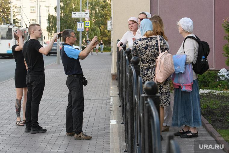 Молебен у редакции URA.RU. Екатеринбург