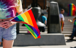 Клипарт unsplash, лгбт, нетрадиционная ориентация, стоковое фото, радужный флаг