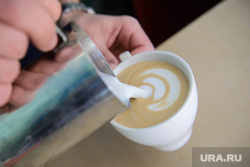 Кофейни. Екатеринбург, чашка кофе