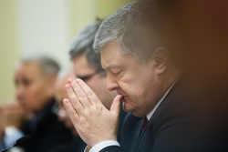 Официальный сайт президента Украины, порошенко петр, молится
